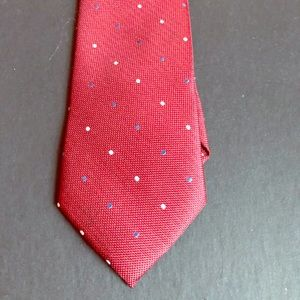 Indochino Red Men's Tie